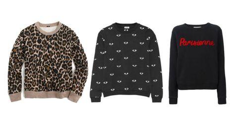 chic sweatshirts for women