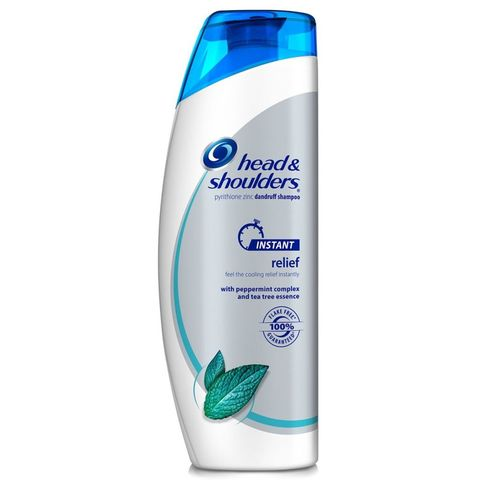 hand and shoulders instant relief shampoo
