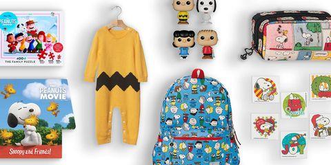 Peanuts movie kids gifts