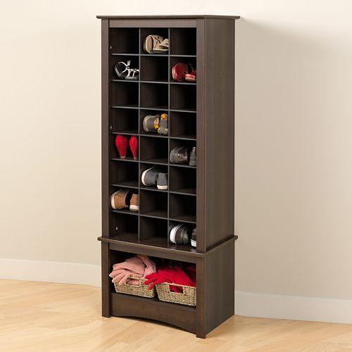 Kohls Tall Shoe Cubby Cabinet