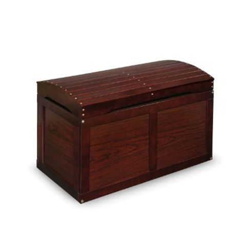 badger basket barrel top toy box cherry