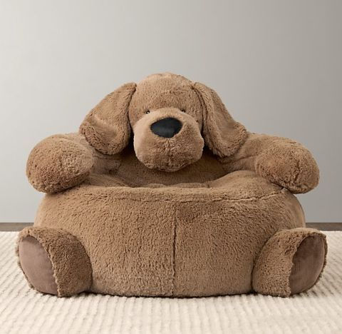 RH Baby U0026 Child Cuddle Plush Dog Chair