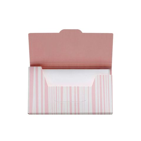 shiseido sweat & oil blotting paper