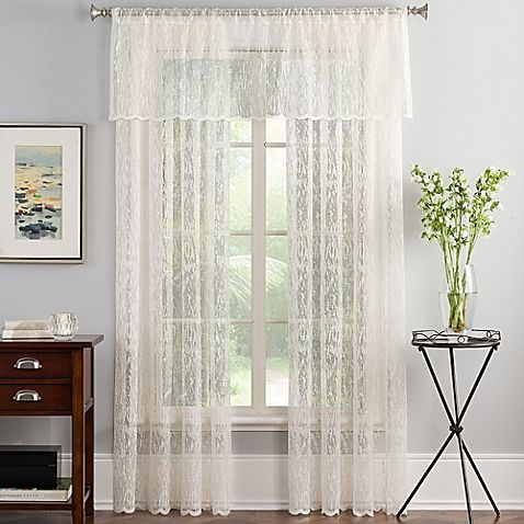 10 Best Lace Curtains in 2018 - Classic Sheer Lace Curtains & Window ...