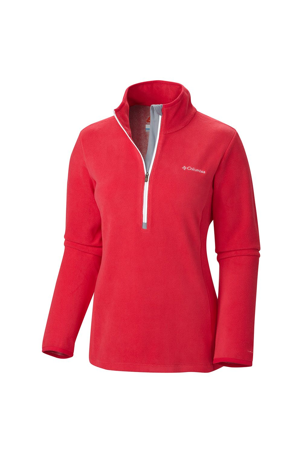 Columbia Women's Blue Basin 1/2 Zip Fleece