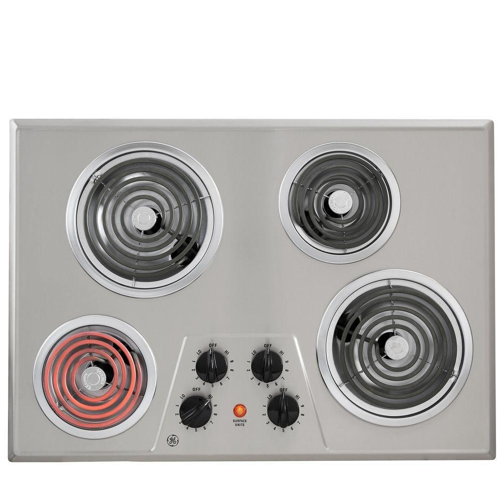 GE Coil Electric Cooktop