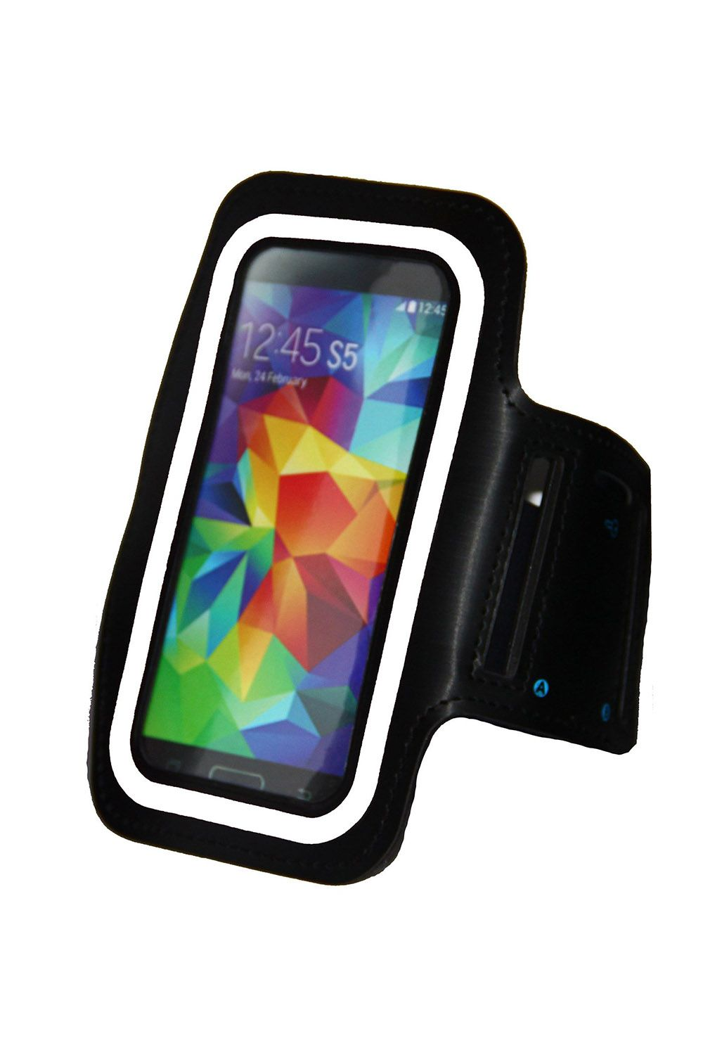 i2 Gear Galaxy S5 Running & Exercise Armband with Key Holder & Reflective Band