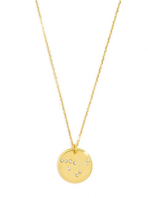 baublebar capricorn pave pendant