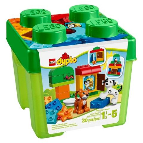 lego duplo my first lego all-in-one gift set green box
