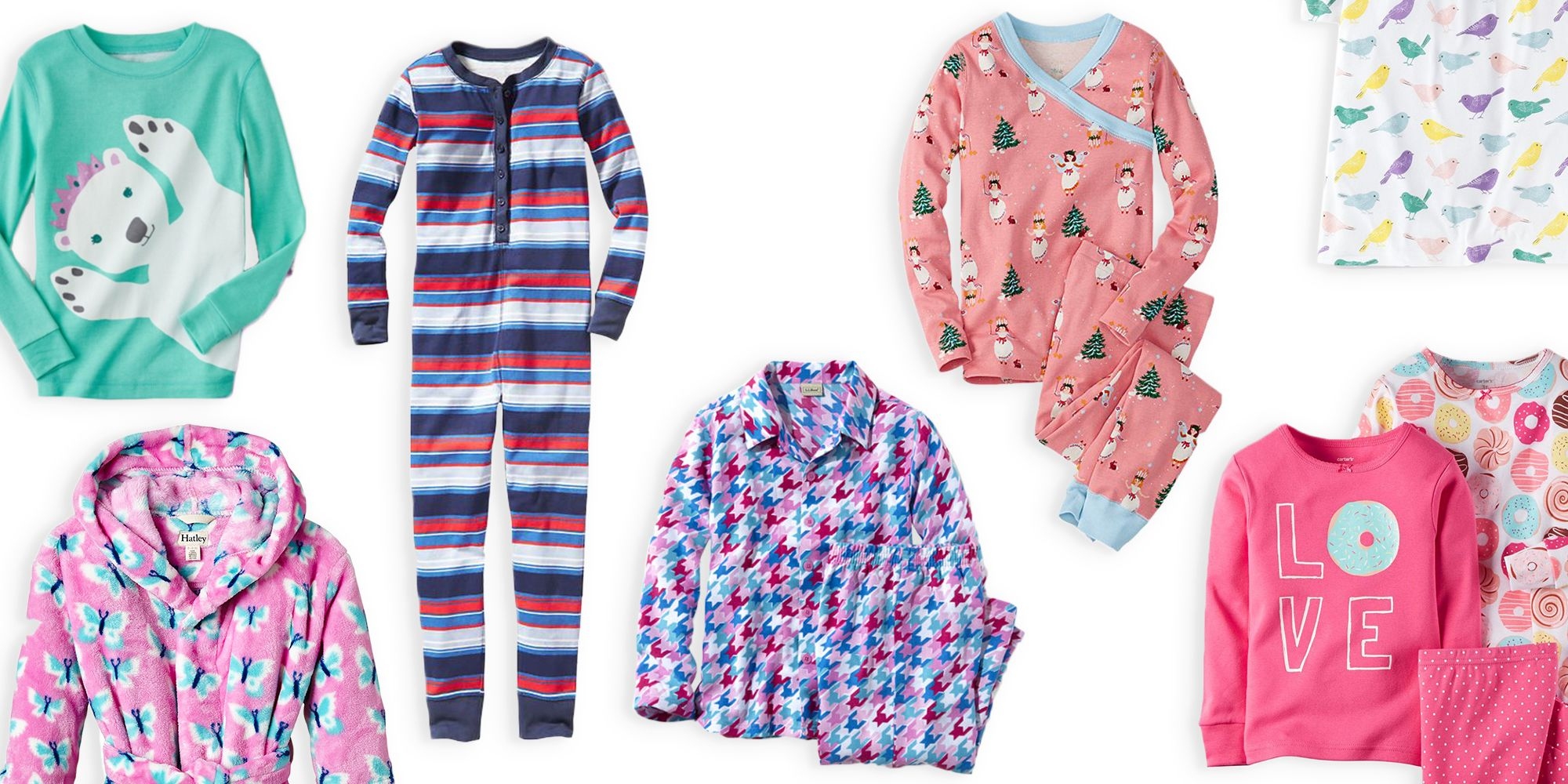 10 Best Pajamas For Girls in 2018 - Cute Cotton and Flannel Girls ...