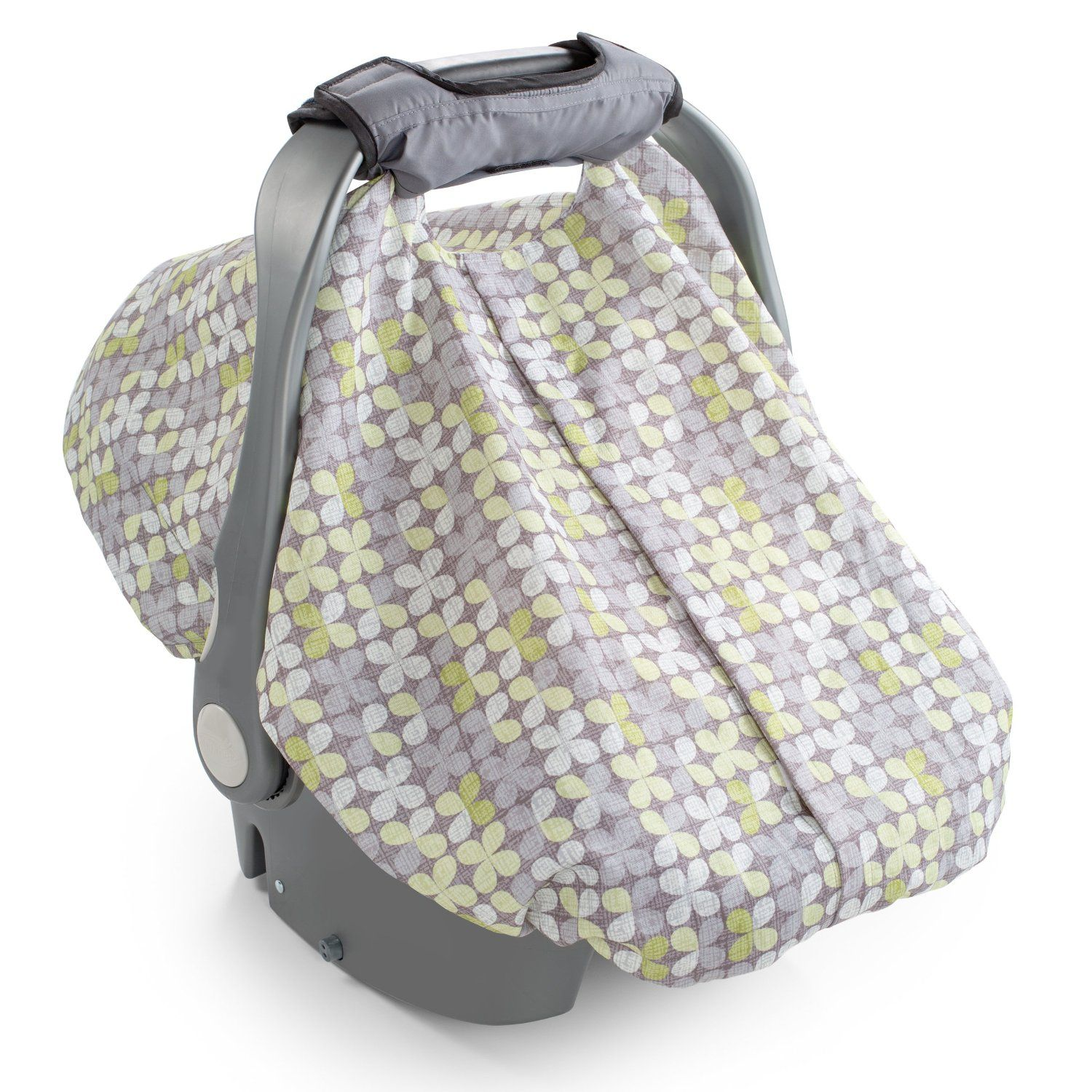 Lightweight Grey Car Seat and Carrier Cover Cozy Cover