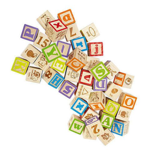 imaginarium wooden alphabet blocks 40 piece set