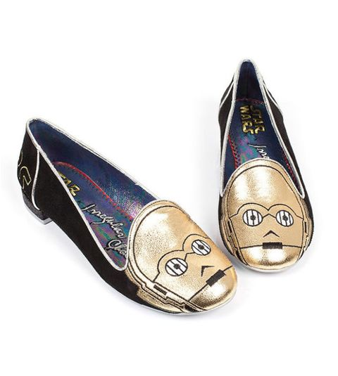 irregular choice limited edition c-3po flats