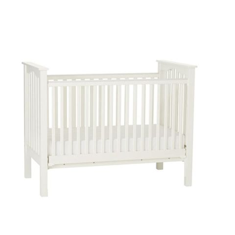 pottery barn kids fixed gate kendall crib white