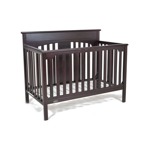 graco lauren signature convertible crib espresso