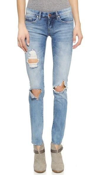 blank nyc distressed skinny jeans