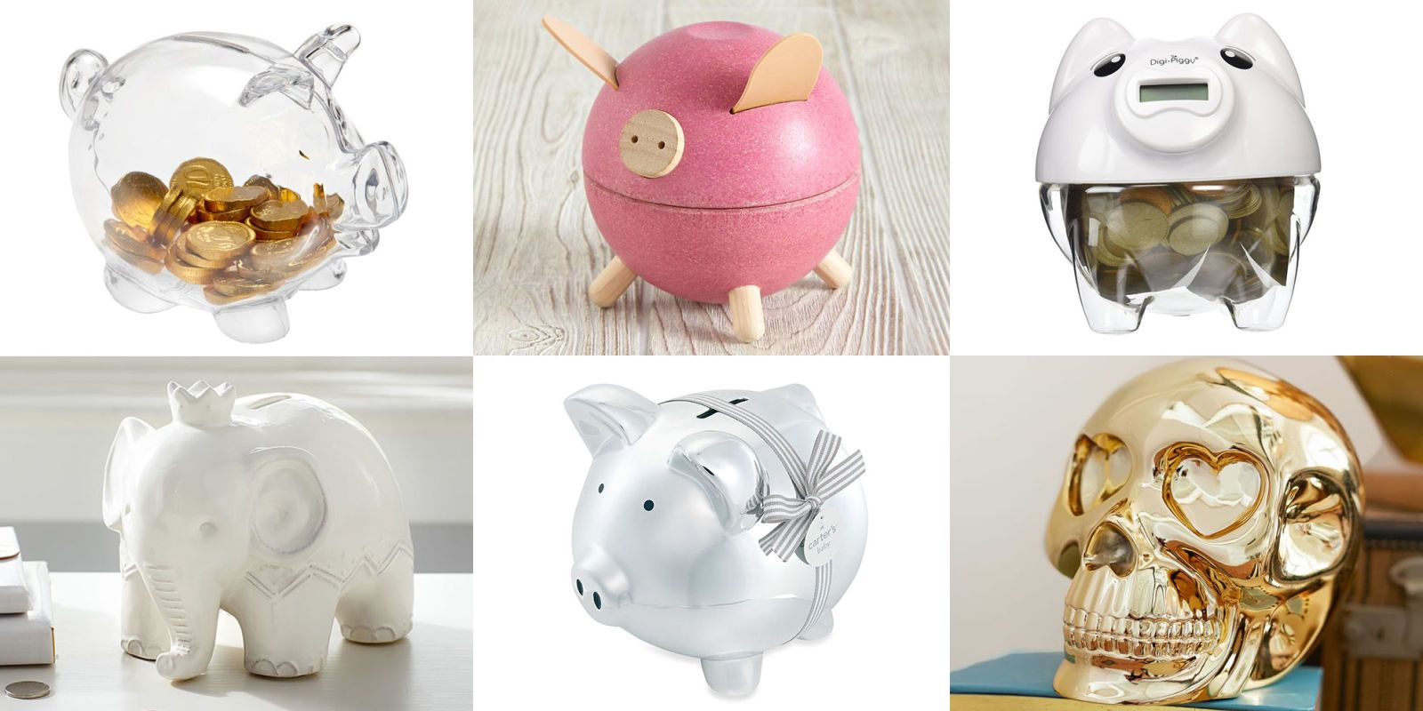 E You Donu0027t Have To Spend A Lot Save Lot Here Are 10 Piggy Banks Under  50 That Will Add Up Major Savings For Your Child