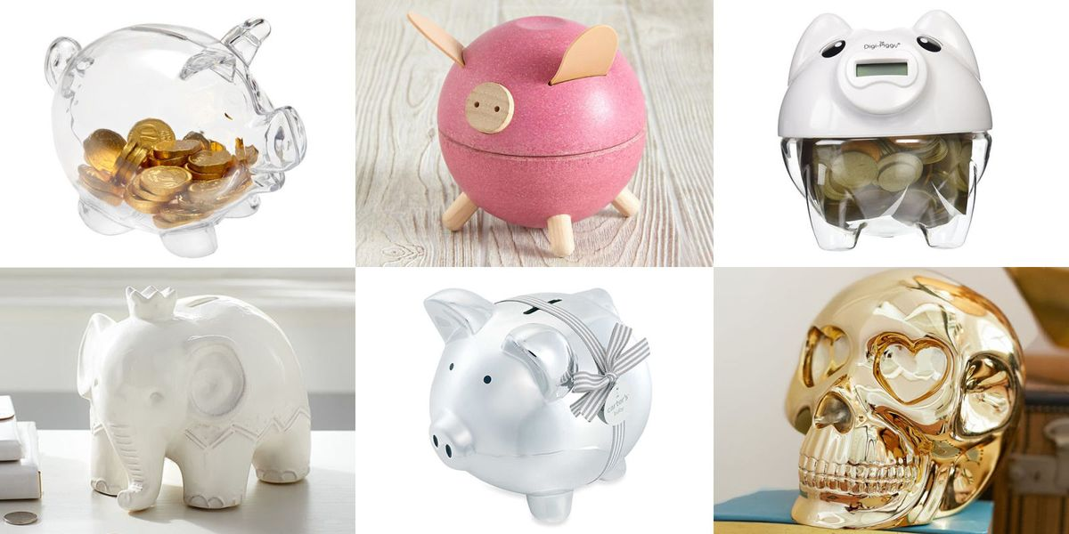 10 Best Piggy Banks For Kids In 2018 Cute Plastic And