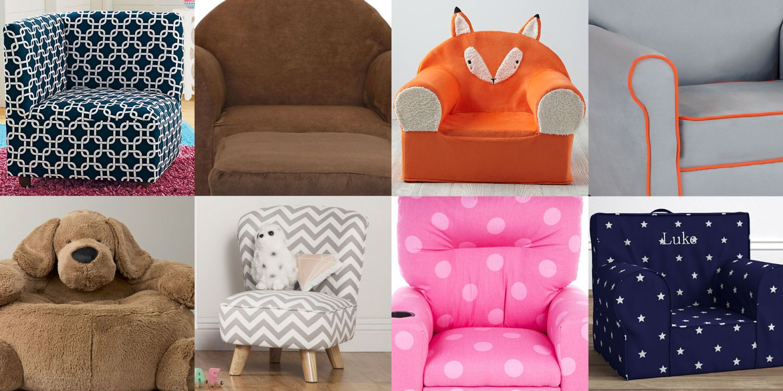 Genial Upholstered Chairs For Kids