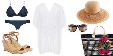 clothing and accessories for a cruise