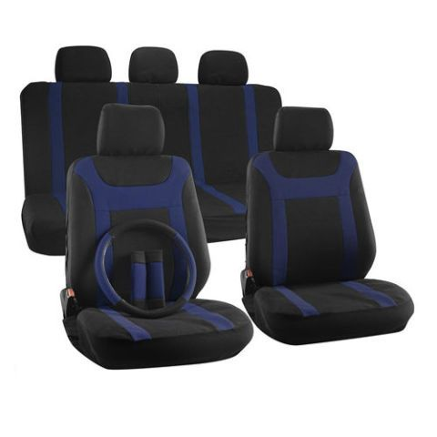oxgord two-tone seat cover set