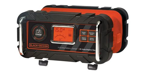 black and decker 15 amp car battery charger