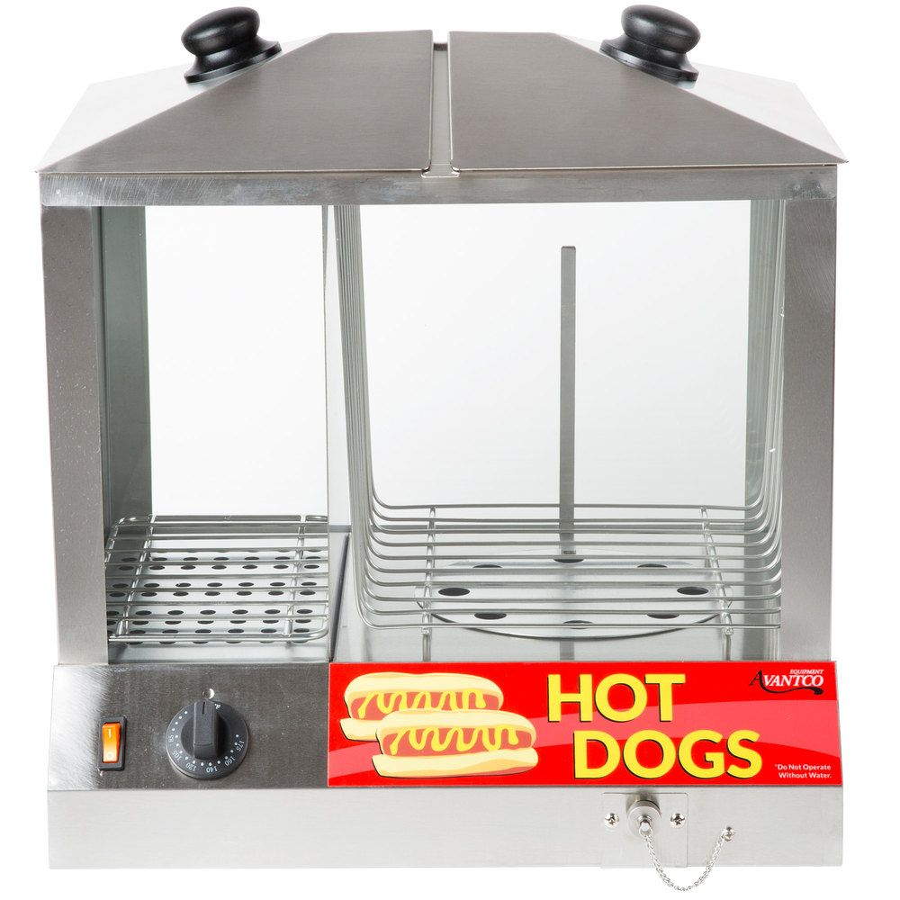 Avantaco Hot Dog Steamer