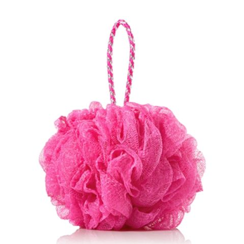Bath and Body Works Pink Shower Sponge