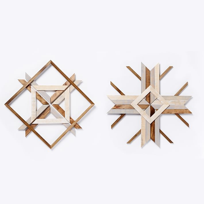 west elm mid century abstract snowflake wall art