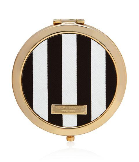 Henri Bendel Heritage Compact Mirror