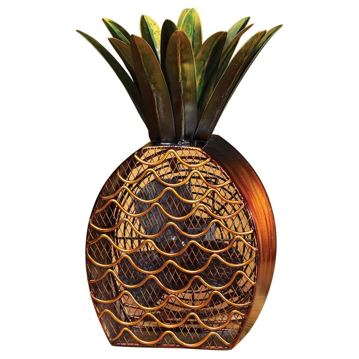 Deco Breeze Pineapple Figure Fan