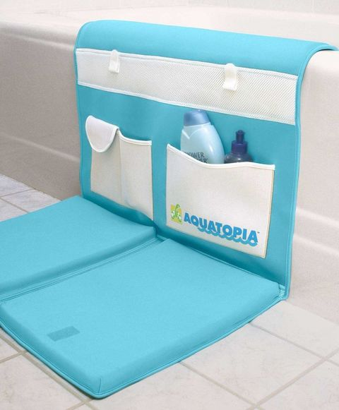 aquatopia deluxe safety easy bath kneeler blue