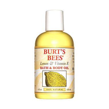 Burt's Bees Lemon & Vitamin E Bath and Body Oil