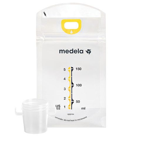 medela pump and save breast milk storage bags