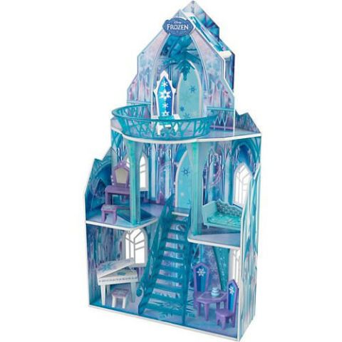 kidkraft disney frozen wooden ice castle dollhouse