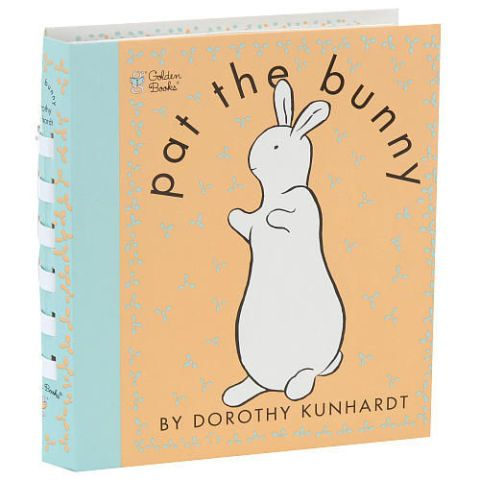 pat the bunny touch and feel book by dorothy kunhardt