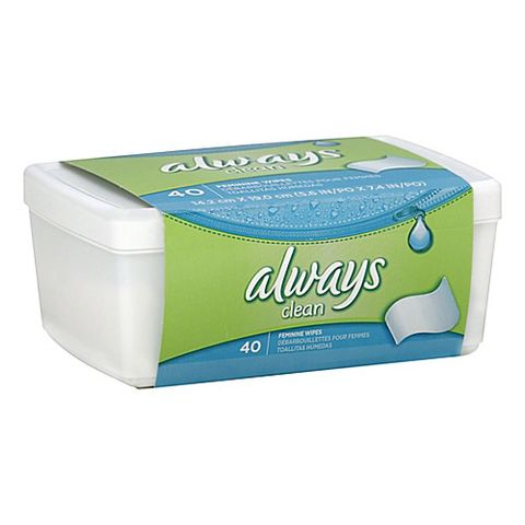 Always Clean Feminine Wipes