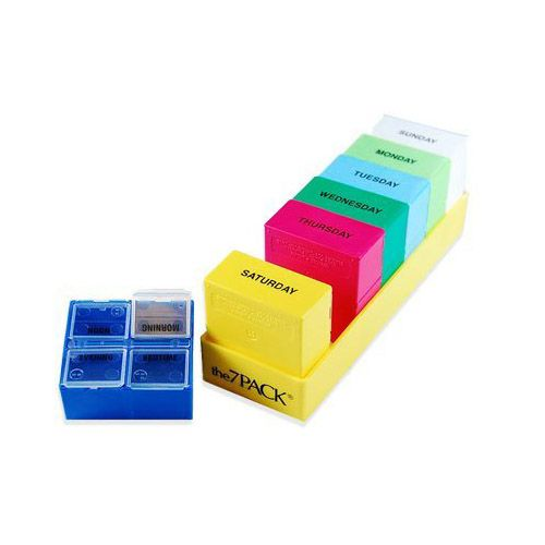 Borin-Halbich 7 Day 4 Compartment Pill Organizer