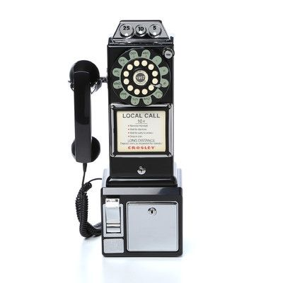 crosley 1950s pay phone