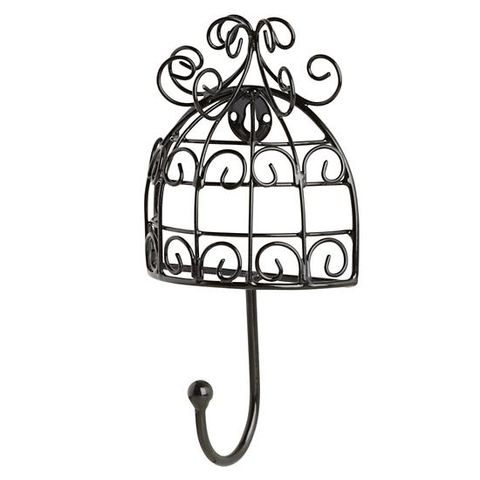 landofnod nightingale wall hook black