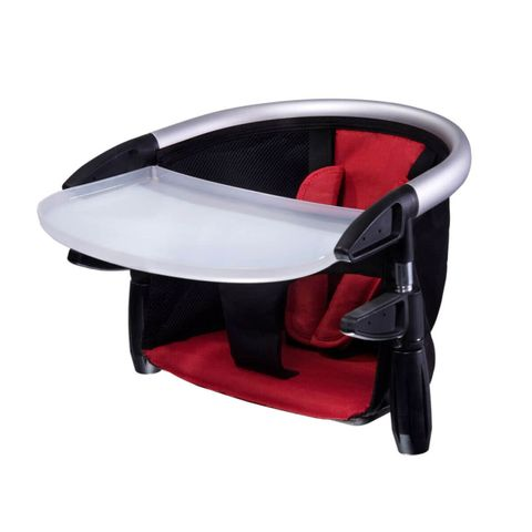 phil & teds lobster portable clip on high chair red