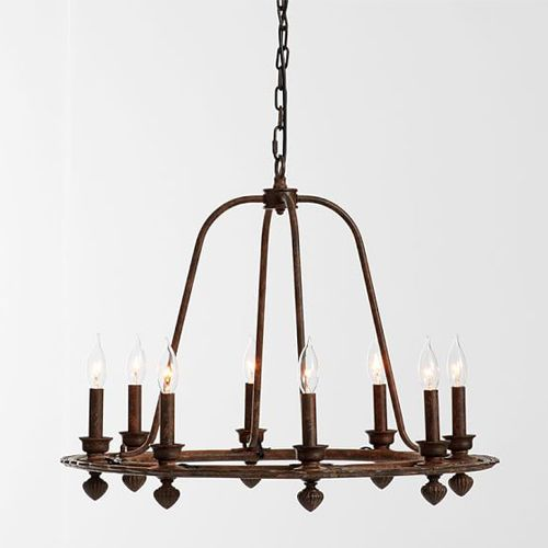 11 Best Wrought Iron Chandeliers In 2018 And Pendant Lights