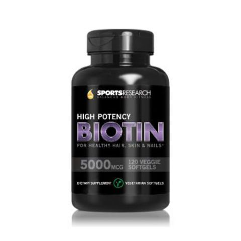 High Potency Biotin for Healthy Hair, Skin and Nails