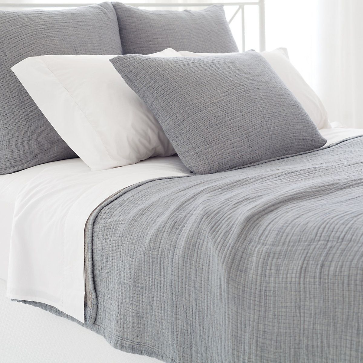 pineconehill Brooklyn Matelasse Coverlet