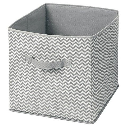 Genial Target Interdesign Chevron Fabric Foldable Nursery Storage Cube