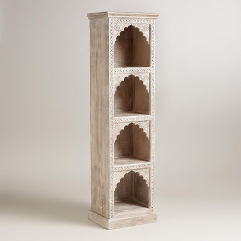 10 best solid wood bookcases in 2018 decorative wood bookcases for worldmarket ivory hand carved wood bookshelf gumiabroncs Images