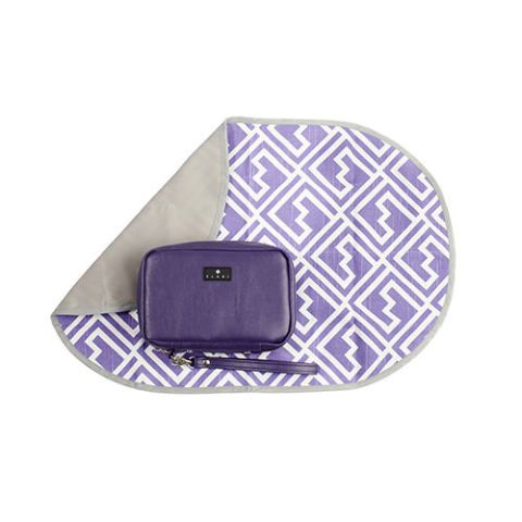 elari diaper wallet purple