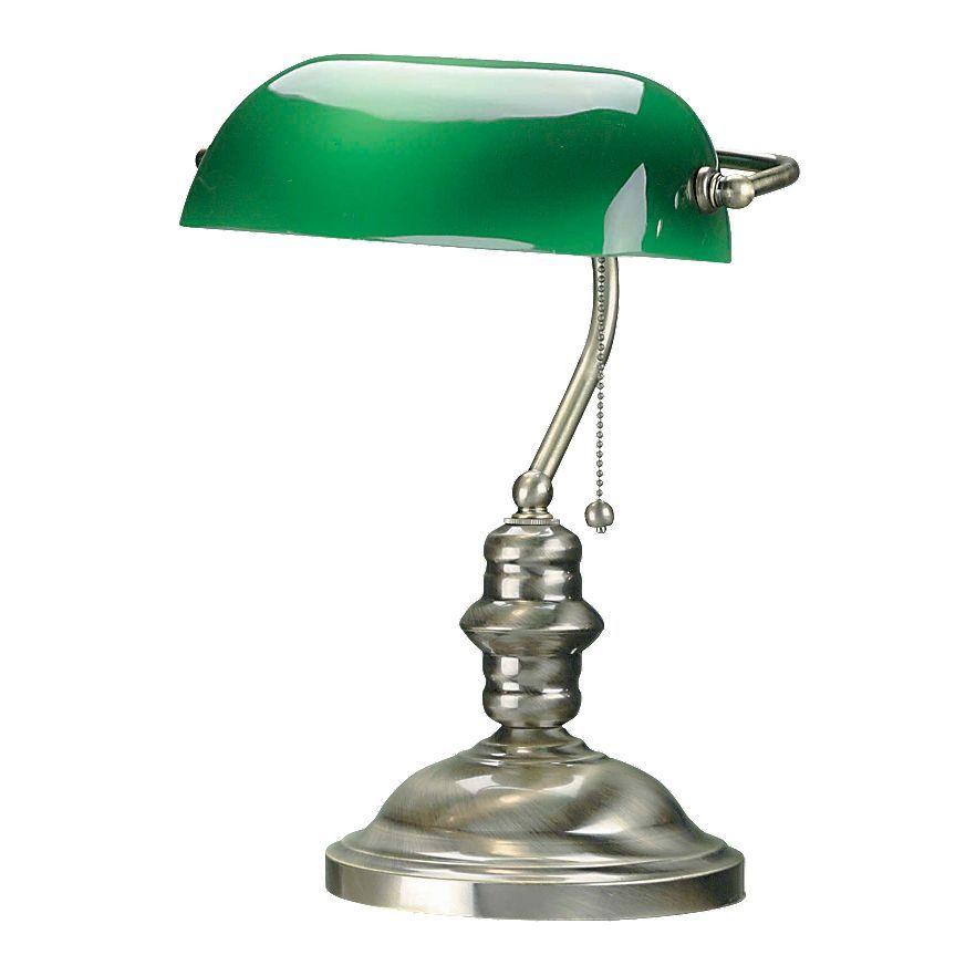 kohls banker lamp