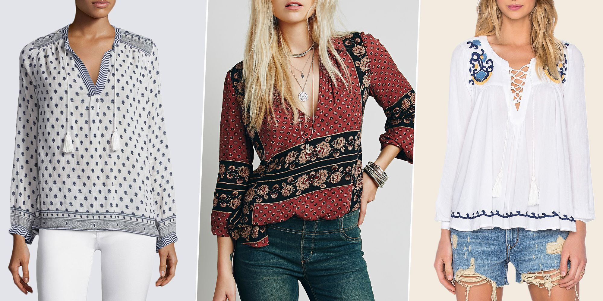 9 Best Peasant Tops for 2018 - Tunics and Peasant Tops for Women 0d767248f