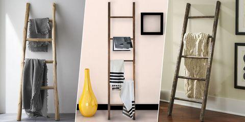 decorative blanket ladders
